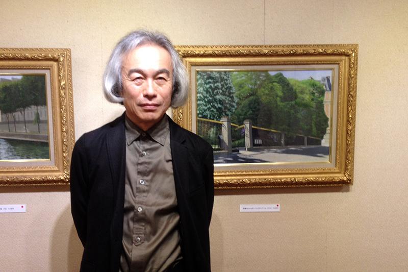 パリで32年、風景表現の限界に挑む 画家・渡部正廣さん(1)