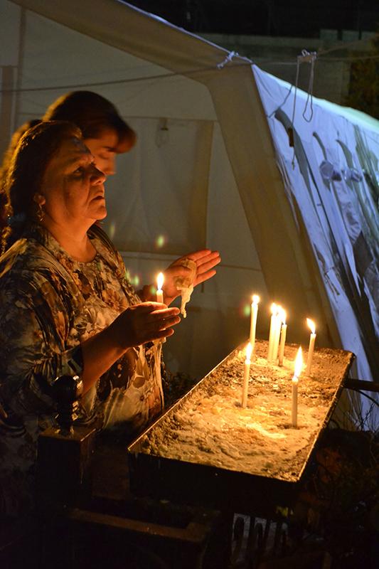 イスラム国を逃れたイラクのキリスト信者、神に対して怒っていないと語る