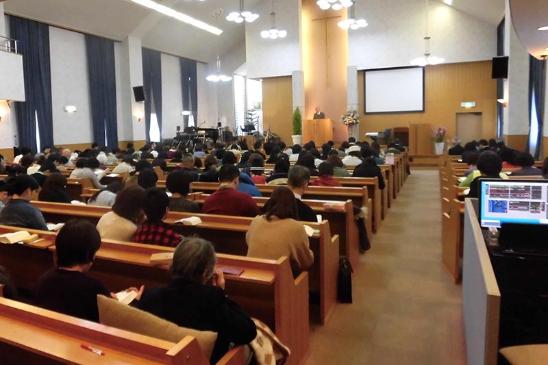 JEC新年聖会開催 愛とロマンの宣教師・在原繁氏、「神の道に進む覚悟」語る