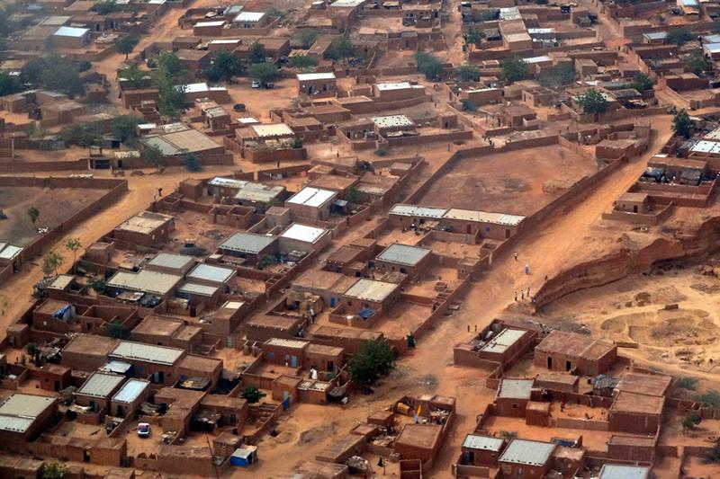 ニジェールの首都ニアメの様子(2011年、写真:Jean Rebiffe)
