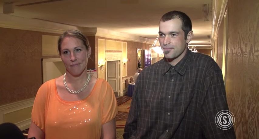 メリッサ・クラインさん(左)とアーロン・クラインさん夫妻(写真:ザ・デイリー・シグナル)