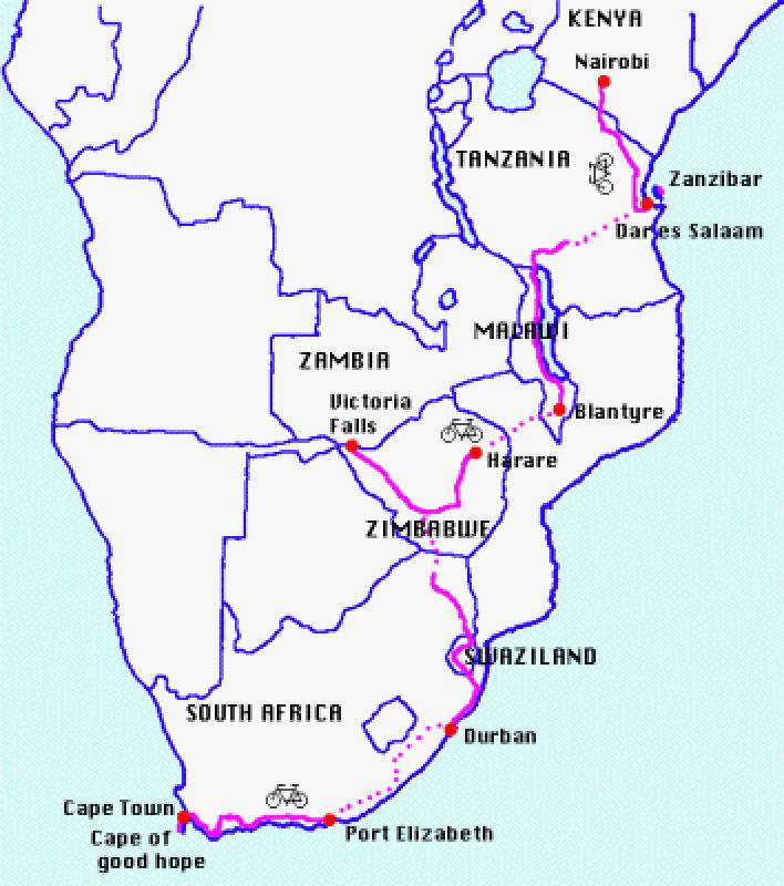 世界自転車旅行記(6)アフリカ 木下滋雄