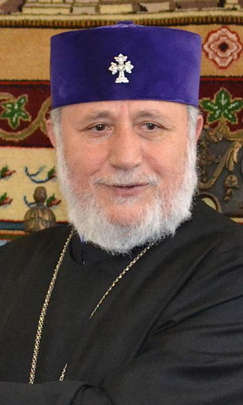 アルメニア使徒教会のガレギン2世(写真:Gobierno de la Ciudad de Buenos Aires)