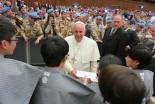 「平成」遣欧少年使節 南島原市の中学生が430年ぶりに教皇に謁見