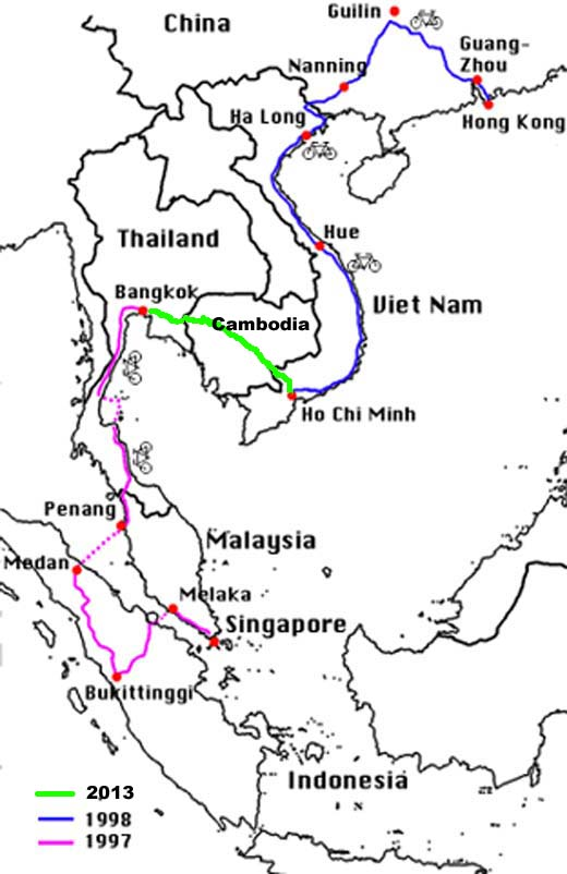 世界自転車旅行記(7)東南アジア 木下滋雄