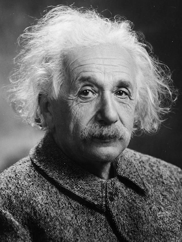 アルベルト・アインシュタイン(1947年撮影)
