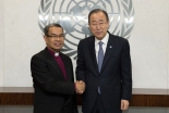 WEAの指導者層、国連事務総長と会談 共通の問題関心で協力関係を議論