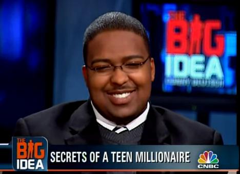 2007年ごろに米CNBCの番組「ビッグ・アイデア」に出演した、持株会社シティ・キャピタルの元CEOエフレン・テイラー被告(写真:CNBC)