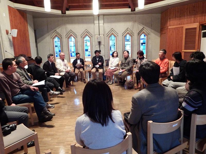 TCUケアチャーチ講座「教会と福祉の実践を考える」 50年先の教会を夢見て