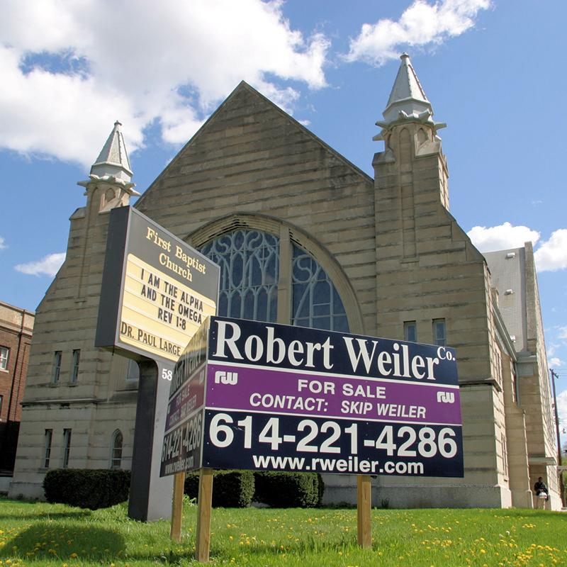 売りに出される教会(写真:R Callender)