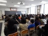 カトリック・プロテスタント合同の学校フェア開催、渡辺和子氏の講演も