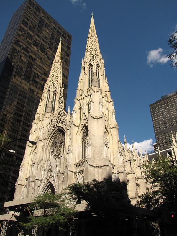 米ニューヨーク大司教区の大司教座であるセント・パトリック大聖堂(写真:Christopher John SSF)