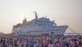 世界最大の「書店」船舶ロゴス・ホープ号、半年間の大改修終え再出航