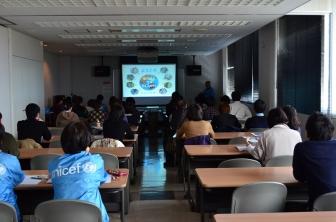 世界の子どもたちの「叫び」に耳を傾けよう 千葉ユニセフ、後藤健二さんのDVDで勉強会