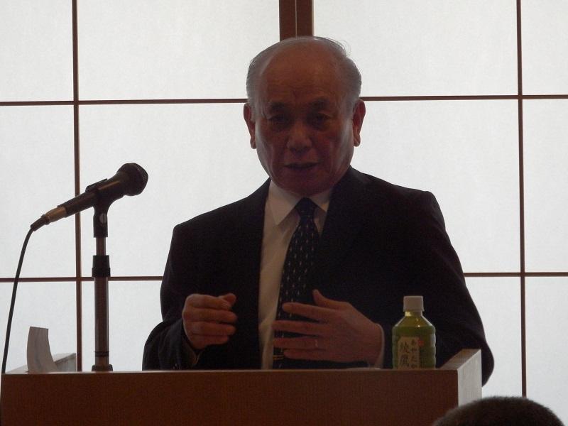 日本キリスト教文化協会連続講演会6年目スタート 初回は受難週を覚え「極みまでの愛」