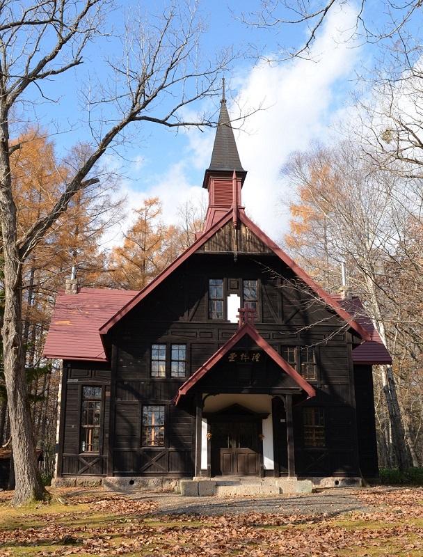 北海道家庭学校礼拝堂の外観(写真:北海道教育庁提供)