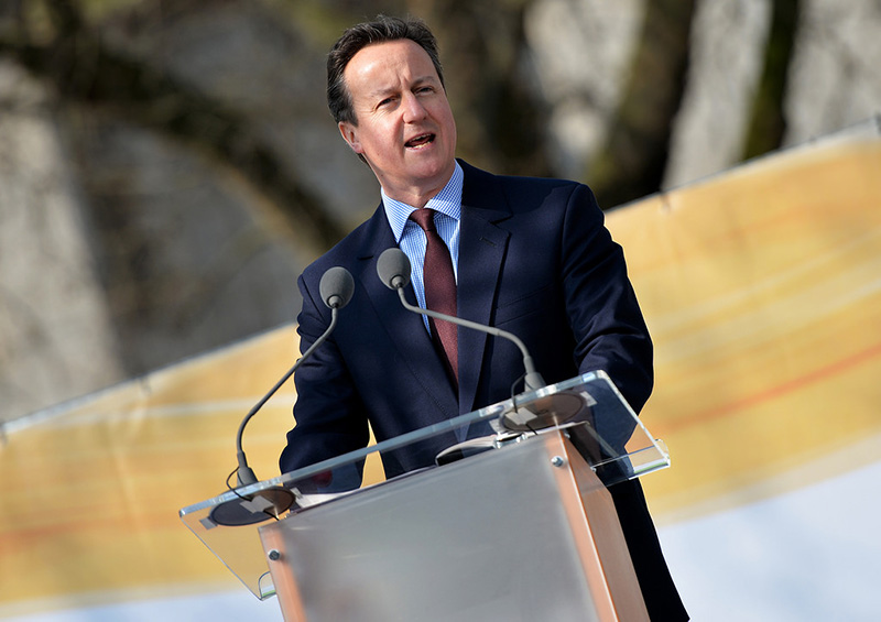 デービッド・キャメロン英首相=2015年3月14日(写真:Crown Copyright / Arron Hoare)