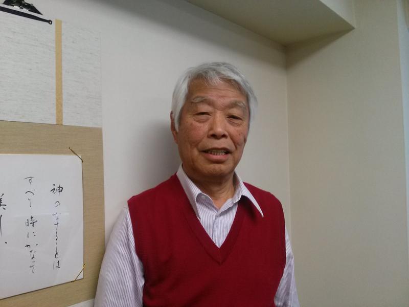 社会福祉法人「愛の鈴」理事長の植草三樹男さん