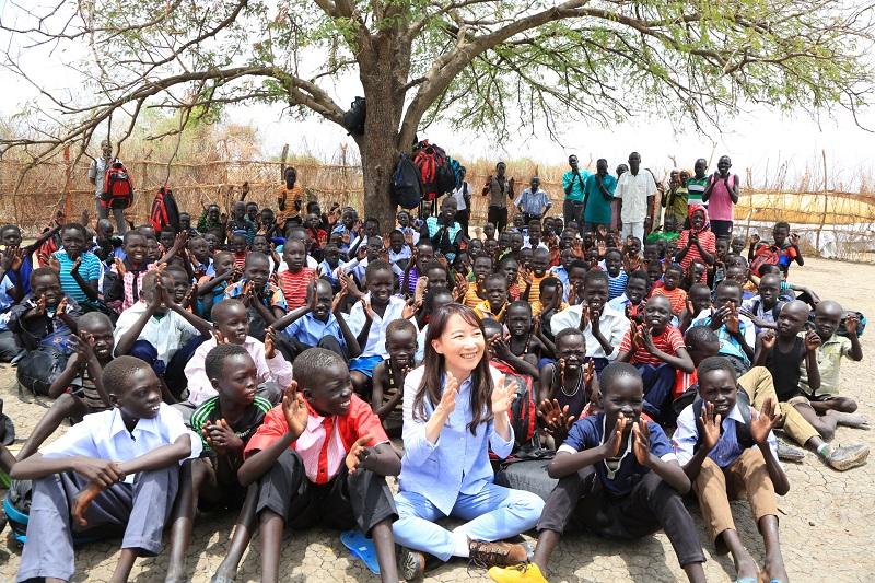 「弱い者を愛するのは神の教え」 アグネス・チャン、南スーダン訪問で報告会