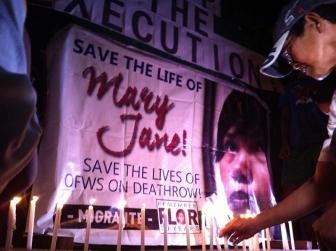 28日に銃殺刑か、カトリックの海外出稼ぎ母親ベロソさん 強まる国際的な抗議と祈りの中で