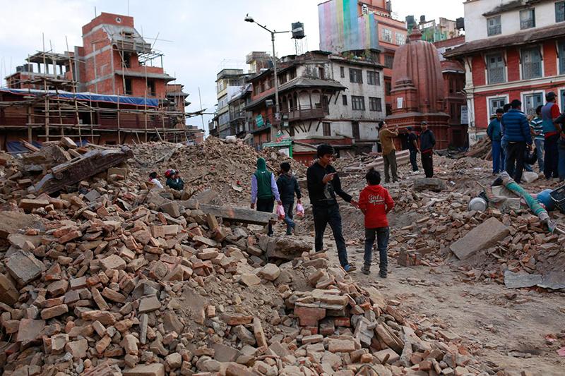 キリスト教援助団体もネパールへ急行 奇跡的に難逃れた現地クリスチャンも