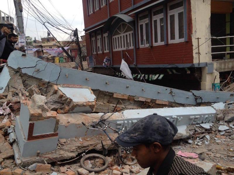 大地震後「不確かさと恐怖でいっぱい」 ネパール教会協議会総幹事