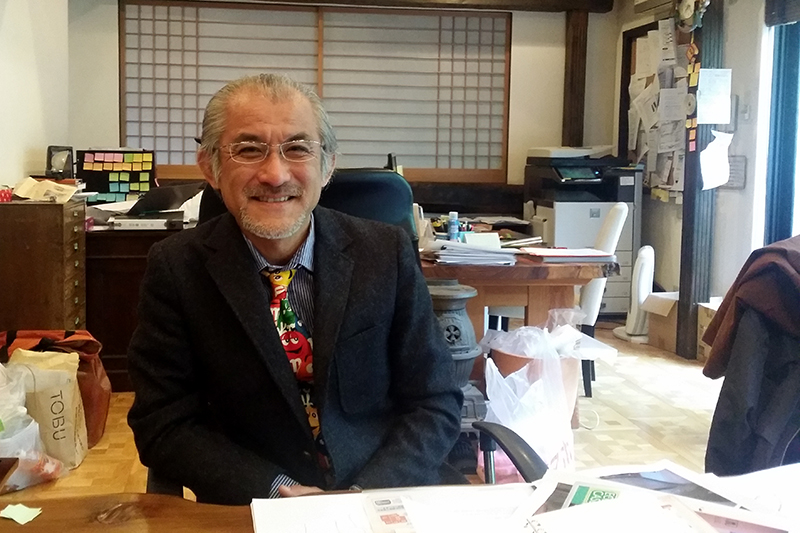 埼玉県を拠点に注文住宅の設計・施工などを手掛ける工務店「サクタスタイル」の代表取締役である大山利行さん(54)