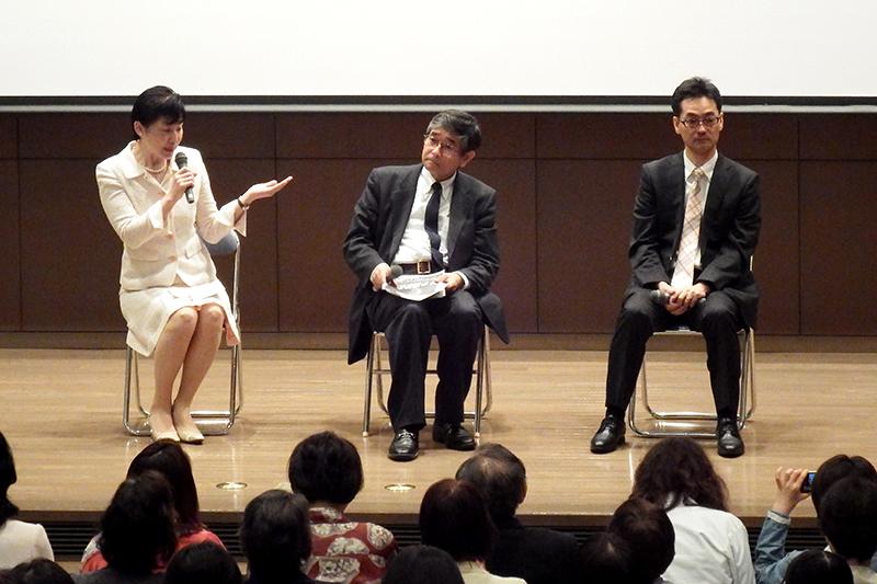 がんとどう向き合うか 日野原重明氏や「がん哲学外来」の樋野興夫氏招き市民公開講座