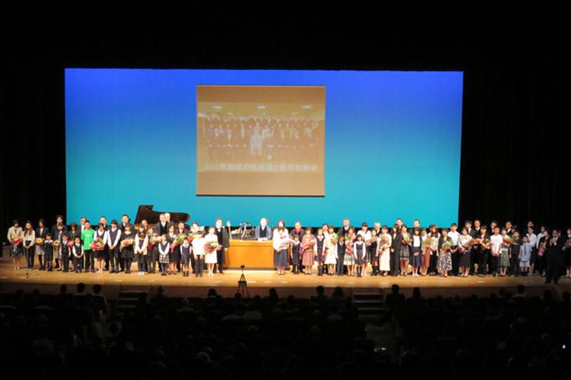 グレース宣教会宣教50周年で式典 国内外から1300人が参加