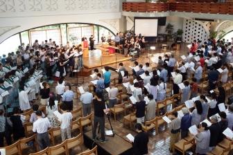 第32回教会音楽祭開催 国籍・教派超え「平和」を求める祈りと賛美