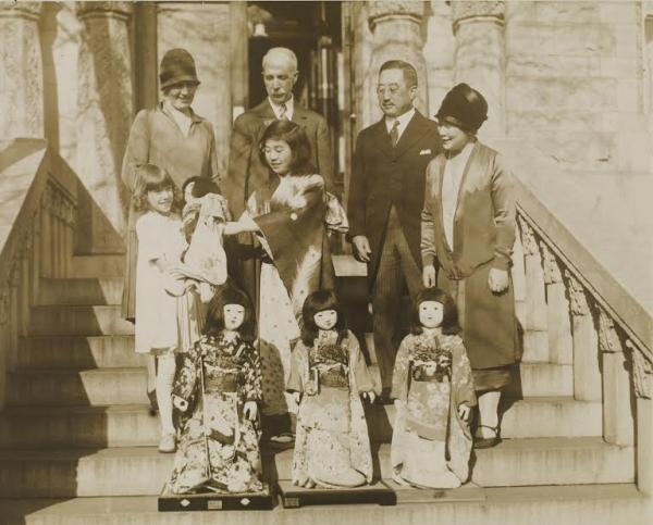 米宣教師の孫ギューリック3世が各地を回り、戦前の日米「人形」交流再び