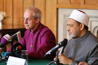 カンタベリー大主教とアズハル大学大イマムが会見 「宗教者が連帯し、政治的手段でIS打倒を」
