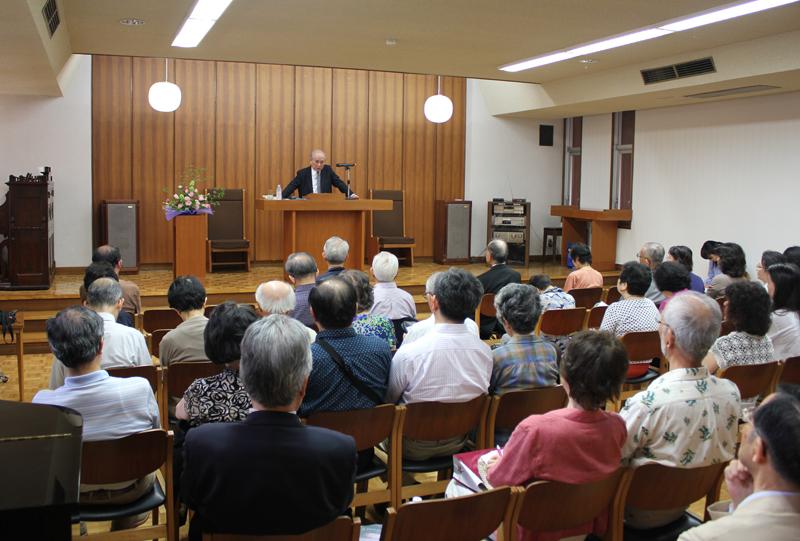 ボンヘッファーの思想と信仰から「今、キリスト者であること」を考える 船本弘毅氏・関学名誉教授が東大YMCAで講演