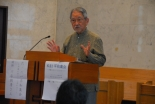 「傲慢になる人々のためにも祈りを」 昭和女子大名誉教授の川平朝清氏、日本バプテスト連盟の平和集会で講演