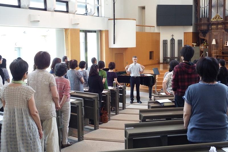 歴史ある詩篇の歌い方を習得 TCUで公開講座「詩篇を歌う」開催