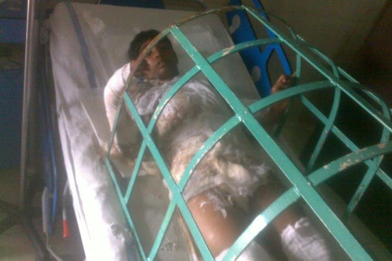 4月15日に死亡したノーマン・マシー君。その5日前、イスラム教徒の男2人に襲われ、重度のやけどを負っていた。(写真:英国パキスタン・キリスト教協会)
