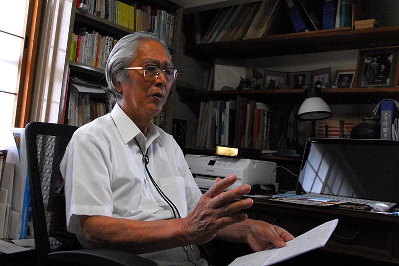 「戦争しないこの国を守っていきたい」 クリスチャン憲法学者・宮本栄三氏インタビュー(1)