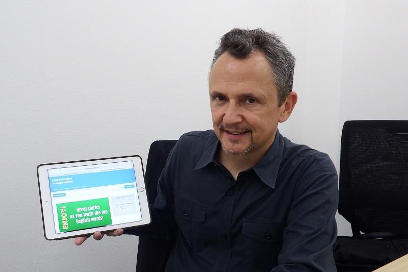 東京基督教大学(TCU)英語教育主任のジョセフ・ポーシャック教授