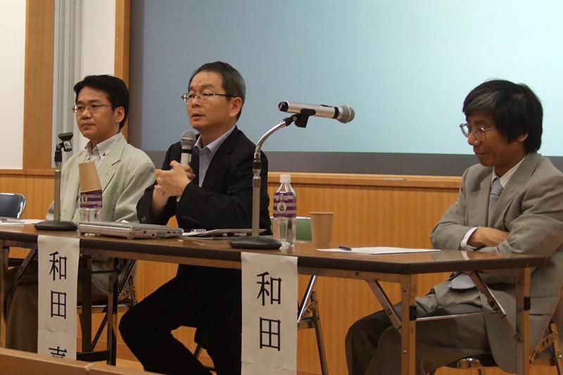 小原氏、和田氏の講演ののち、パネルディスカッションと会場からの質疑が行われた