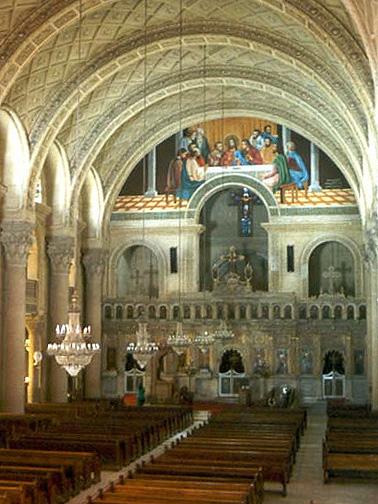アレキサンドリアにあるコプト正教会の聖マルコ大聖堂(写真:A. Fanous)