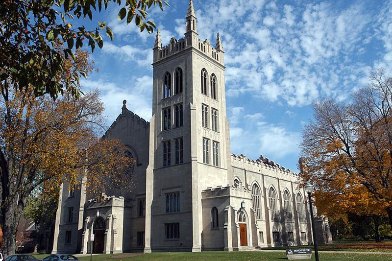 ホープ大学のディムネント・チャペル(写真:Trenner1945)