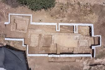 エルサレム近くで1500年前の教会跡発見 道路の拡張工事で