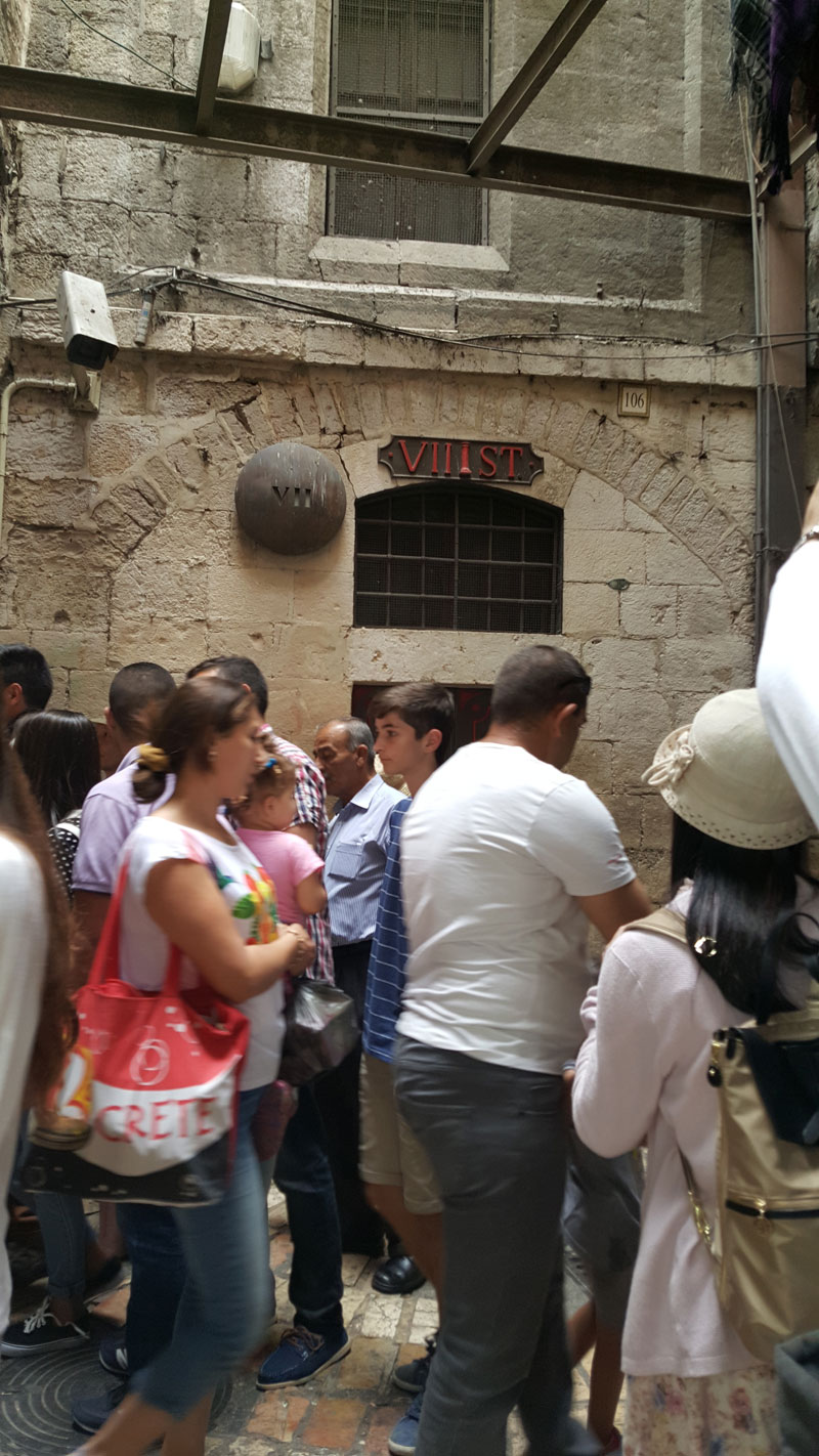 妹尾光樹のイスラエル旅行記(7)ヴィア・ドロローサ