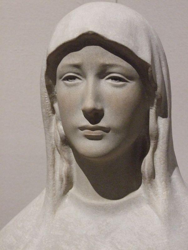 舟越保武の信仰と静謐な美 練馬区立美術館で彫刻展  「長崎26殉教者記念像」など