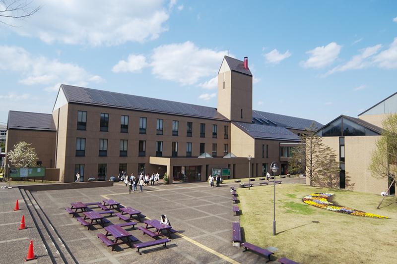 恵泉女学園大学のキャンパス(写真:小林裕明)