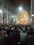 戦後70年の広島から(2):平和願い、カトリック・聖公会・チベット仏僧らが共に祈り