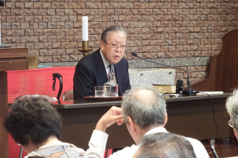教会が慰めの場となるには? 加藤常昭牧師、牧師と信徒両者の役割語る