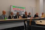 24日に「戦争法案に反対する宗教者・門徒・信者全国集会」 呼び掛け人らが記者会見