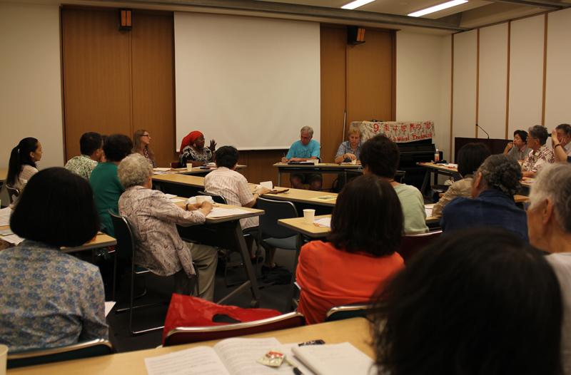 「日米安保条約」ではなく「日米平和条約」を 米国友和会の青年会員が被爆地、沖縄、福島を訪問
