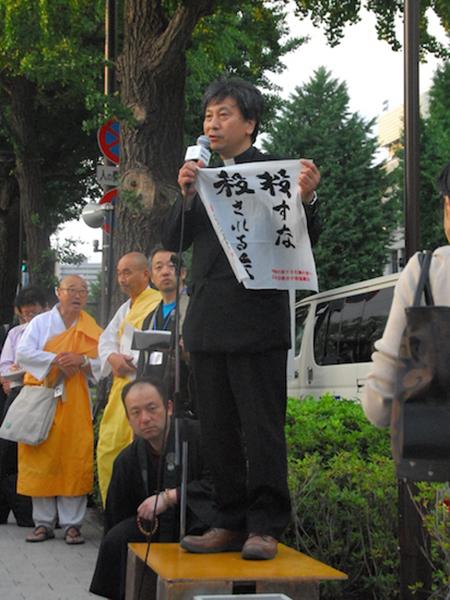 宗教者ら500人超が国会前で抗議祈念行動 「武力で平和はつくれない」